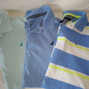Boys Collared Shirt Size XL 18/20 Lot Of 3